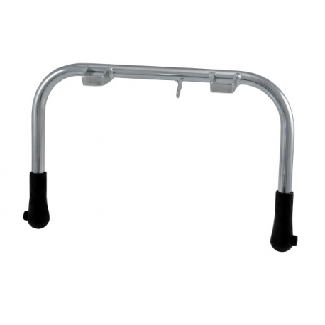 Central stand chrome ø 20 with rubber kit