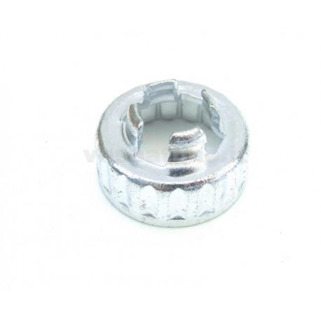 Fixed cup drum nut rear wheel vespa pk, px, pe