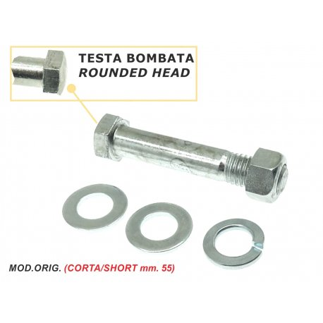 Bolt handlebar for vespa 150 vba1t, 150 vb1t, 150 vbb1t→2t, 150 vl1t→3t, gs 150 all