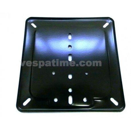 Number plate holder black for old-type plates dimensions 170mmx170mm