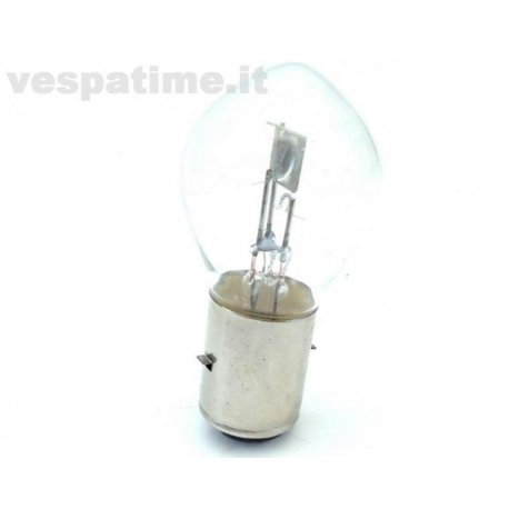 Double filament light bulb 12 volts 25/25 watt