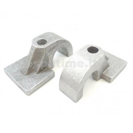 Brackets for fastening stand (16mm diameter) to fastening hole for Vespa 125 VNA1T-2T, VNB1T, 150 VBA1T