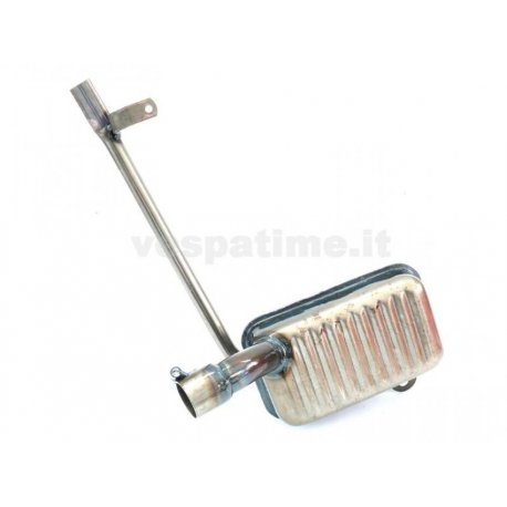 Handcrafted muffler for vespa 125 1951 wire change v30t
