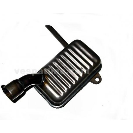 Handcrafted muffler for vespa 125 year 1953