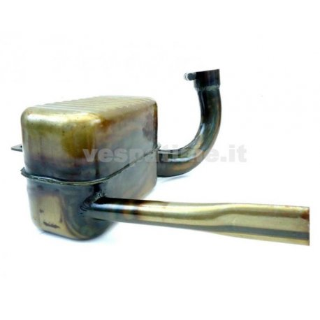 Handcrafted muffler for vespa 150 gs vs1t without ring nut