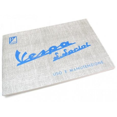 Manual de uso y mantenimiento vespa super sprint