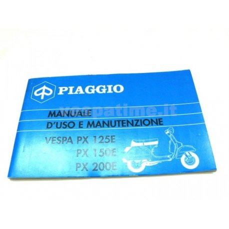 Use and maintenance manual vespa px
