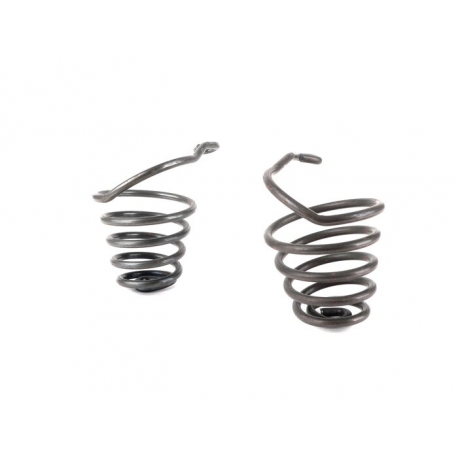 Pair of springs dark green for front saddle Vespa 150 VL1T-VL2T Struzzo
