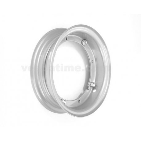 Wheel rim 3.50-8 grey open type for vespa 125/150 super painted aluminium