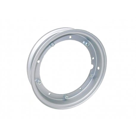Wheel rim 3.50-10 open all vespas metallic grey