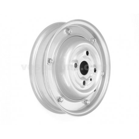 Wheel rim 2.75-9 grey closed type for vespa 50 n/l/r v5a1t until 752188 1971 painted aluminium
