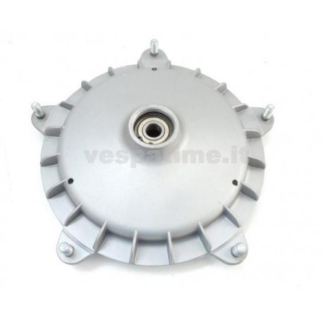 Drum front wheel vespa px first series with bearing, bearing cage, oil seal, seeger