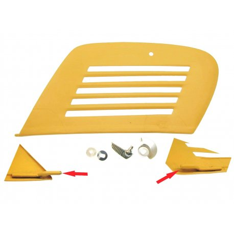 Cover engine lever locking for vespa 50/90, 2nd series