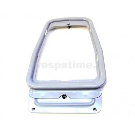 Luggage carrier plate for vespa 50 from 66 and 50 special, 125 et3/primavera, vespa 90 with grey antirust bottom