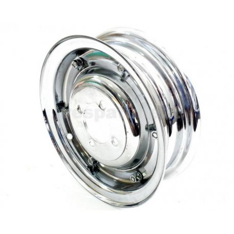Wheel rim 3.50-8 chrome full type