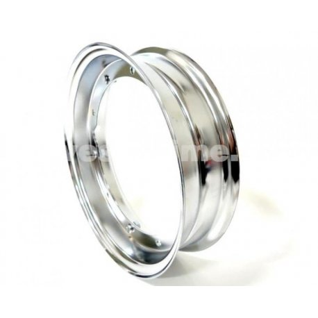 Wheel rim vespa dimensions 4.00-10 chrome