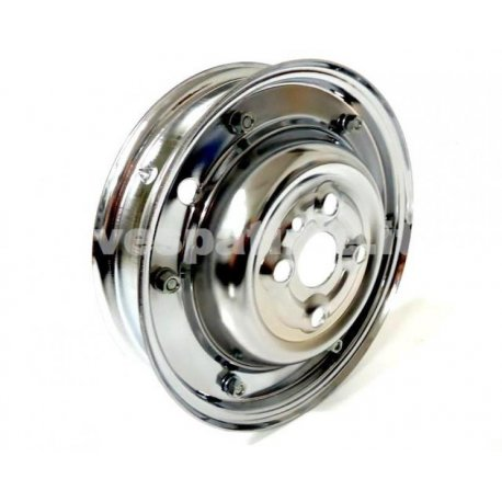 Wheel rim vespa dimensions 2.75-9 chrome for vespa 50