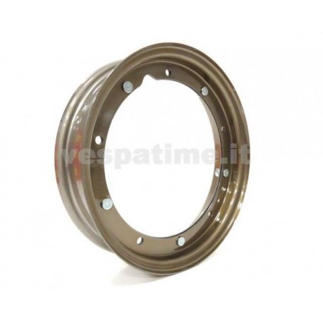 Wheel rim dimensions 3.50-10, 3.00-10 titanium colour, italian product