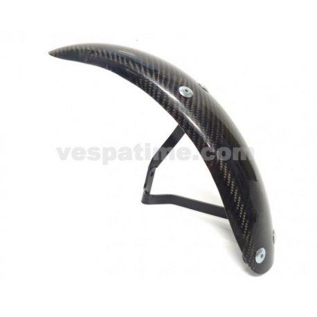 Mudguard sip vespa px 125/150/200 all series without disc brake, carbon steel