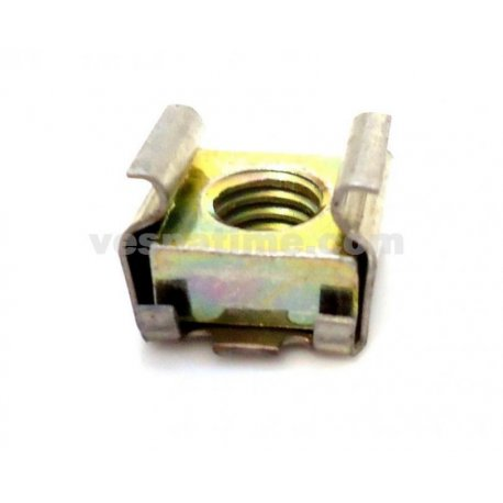 Nut support pedal rear brake on vespa chassis