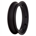 Wheel rim tubeless sip with channel 2.10-10 black