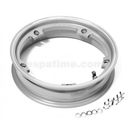 Wheel rim tubeless with channel 2.10-10 grey