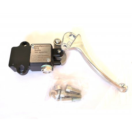 CRIMAZ disc brake master cylinder with tray RECOVED FROM FULL for Vespa 50 SPECIAL, ET3, PRIMAVERA, RALLY