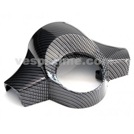 Handlebar cover vespa px/pe second series and arcobaleno series, carbon look