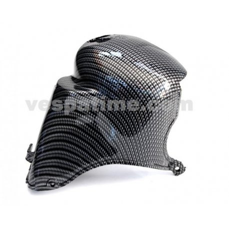 Cylinder cooling cowl plastic vespa px 200, rally 180/200, carbon look