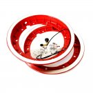 Wheel rim tubeless with channel 2.10-10 red