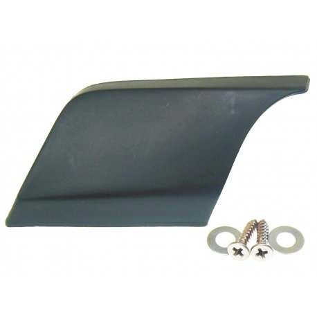 Plastic air scoop for engine cover