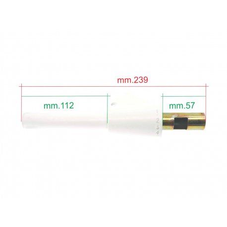 Gear tube for vespa 50ss and 90ss