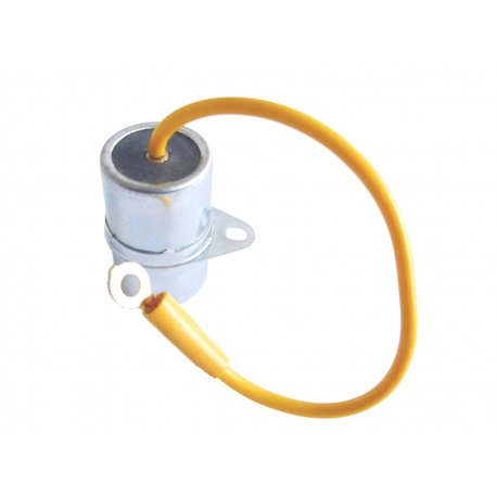 Condenser with one cable with fastening bracket for vespa 90, 90ss, 125 primavera