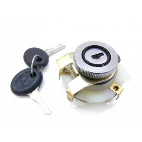 Ignition lock for vespa et3, px with indicators original, siem key