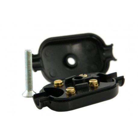 Junction box low voltage black vespa 150 vbb1t/vbb2t, 125 vnb3t→vnb6t