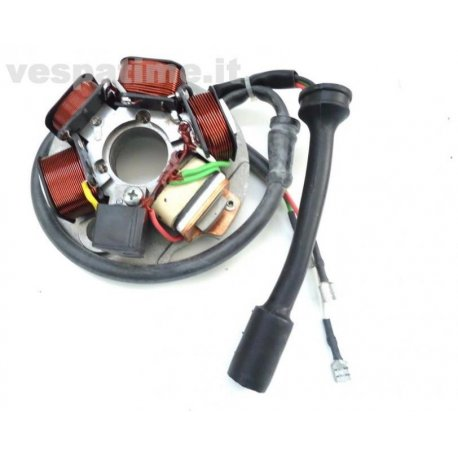 Stator set 12 volt for vespa pk125s with indicator and electric starter, pk50xl plurimatic, pk50fl2 automatica, pk50hp