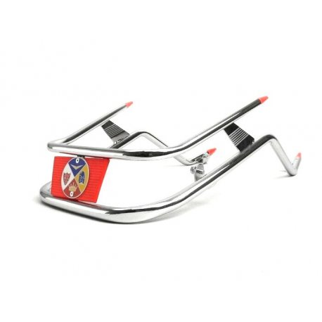 Bumper for chrome-plated/red mudguard Vespa PX-PE-ARCOBALENO-MY