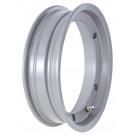 Wheel rim tubeless SIP 2.0 with channel 2.50-10 grey - Vespa 50, 125 ET3 Primavera, PK, PX, T5