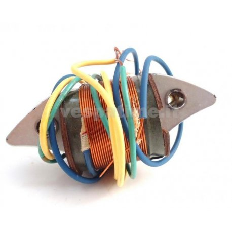 Coil light for vespa 150 vbb1t to be installed together with our product pe 209. ref.piaggio. 91492