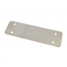 Reinforcement plate stainless steel central stand Vespa 50 N-L-R-SPECIAL, 90, 125 Primavera/ET3