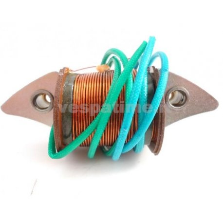 Coil light for vespa 150 vbb1t to be installed together with our product pe 203. ref.piaggio. 91493