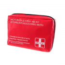 Motorcycle first aid kit with DIN13167 - 2014 approval