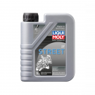 Liqui-Moly - 2T Street 1L engine oil - SEMI SYNTHETIC