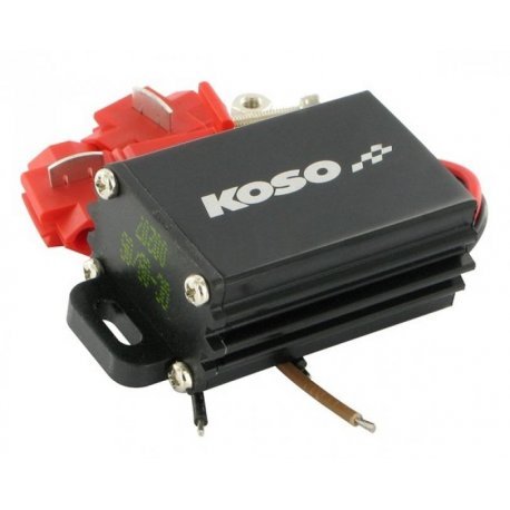 Voltage converter koso. for use of koso instruments without 12-volt battery