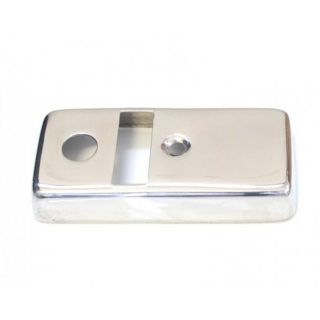 Light switch cover chrome for vespa p125x, p150x, p150s, p200e