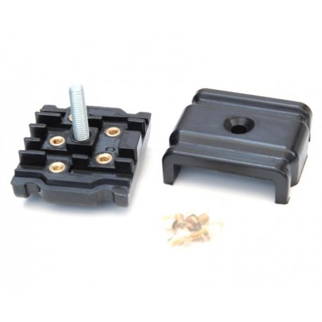 Junction box low voltage vespa 160gs, 180ss, black plastic