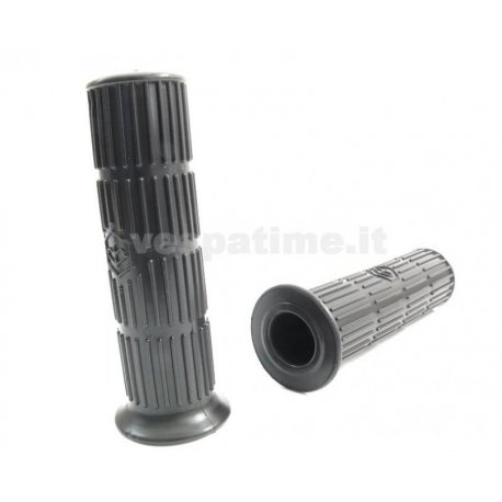 Grips black for vespa 50/90/125 primavera/et3/pk