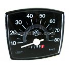 Odometer piaggio original for vespa 50 special scale numbering 80 km/h