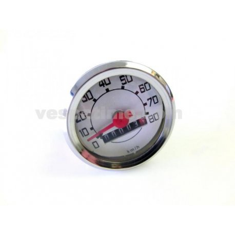 Odometer for vespa 50 l/r/n, vespa 90 scale numbering 80 km/h