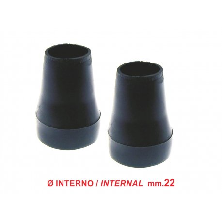 Pair of stand boots vespa px/pe from 1980 and vespa pk